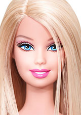 Gallery For gt Barbie Doll Face