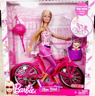 Targets Exclusive Glam BikeTM BarbieR