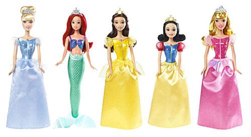 disney princess basic m8986 Girls Are More Than Princesses and Fairies