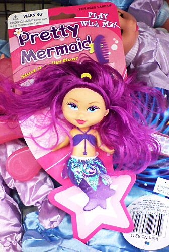 It Came From The Dollar Store Pretty Mermaid Doll Diary